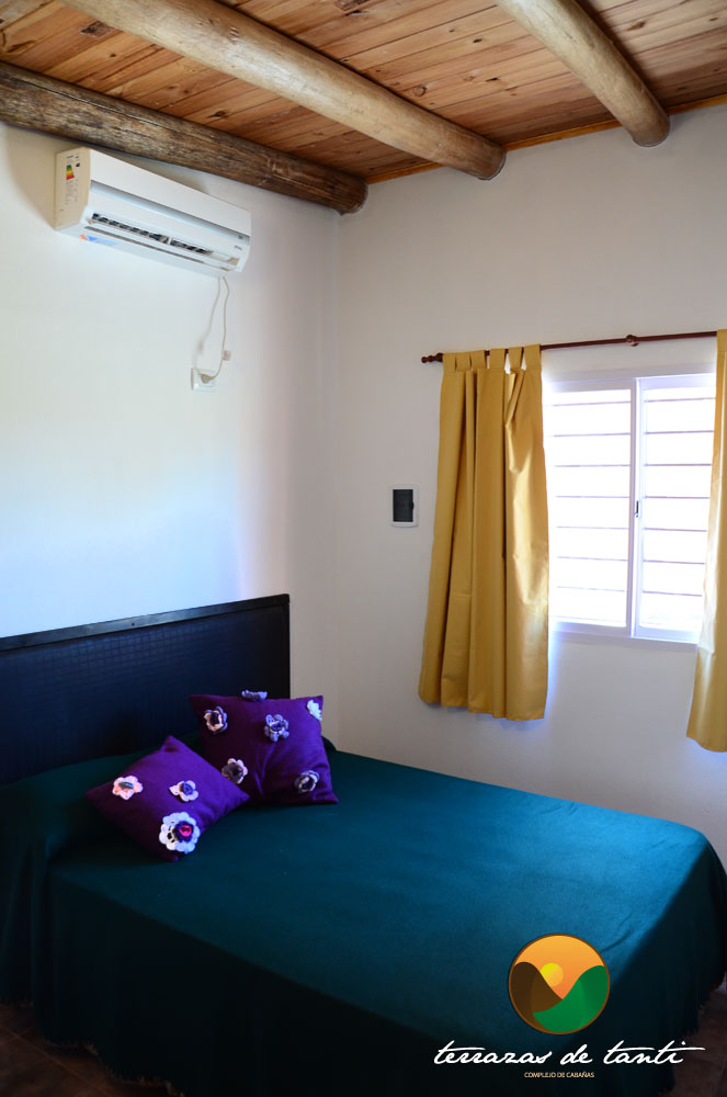 Habitacion de cabaña simple