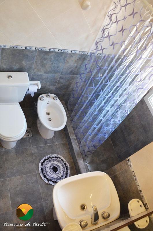 Baño cabaña 2 plantas